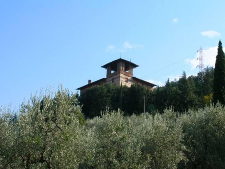 Villa prestigiosa nel chianti con piscina ville in for 3 piani di camera da letto 2 bagni piani 1 storia