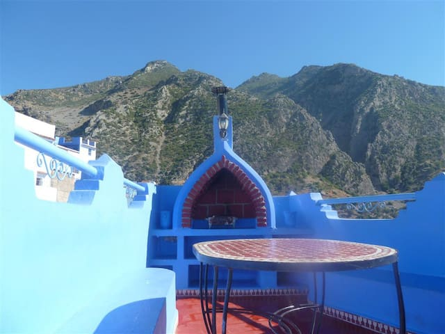 Charming house in  Chefchaouen for 6 people