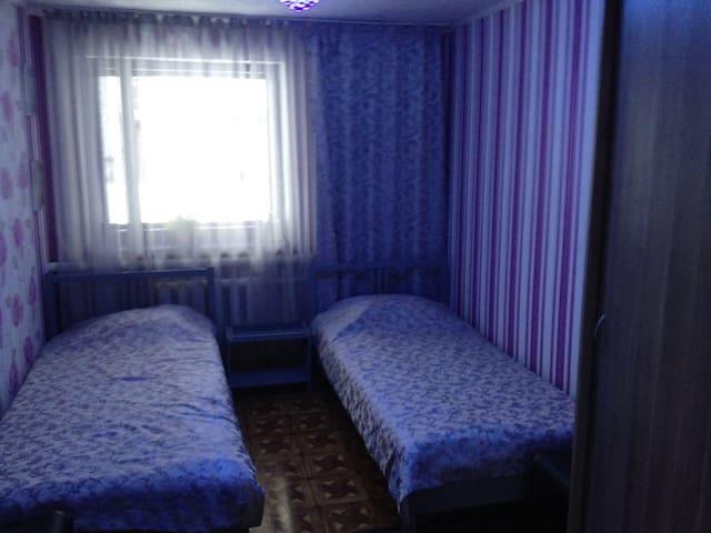 Уютный номер для двоих в отеле
