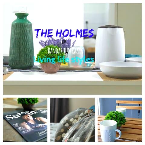 暾拉萨 THE HOLMES®3 Rooms ■Near HUKM🌐靠近吉隆坡 kl city