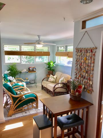 Mermaid's Secret Haven with AC & Washer/Dryer - Kaneohe - Apartamento