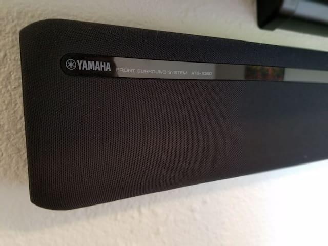 Sound bar with Bluetooth capability