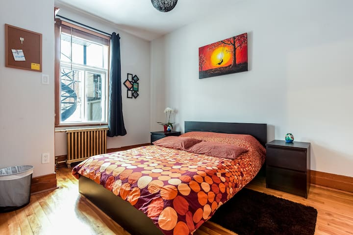 Cozy rooms in big appartment - Terrace and parking