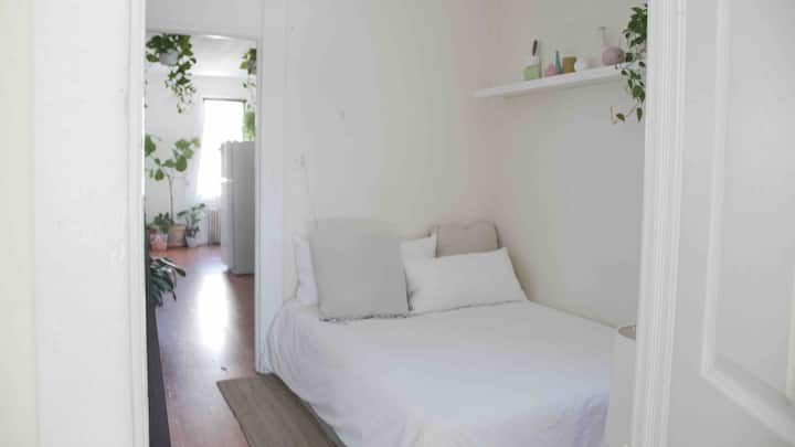 Private Bedroom. Jungle Apartment