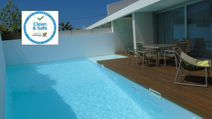 Villa Roxy Modern villa & Pool close to Meco beach