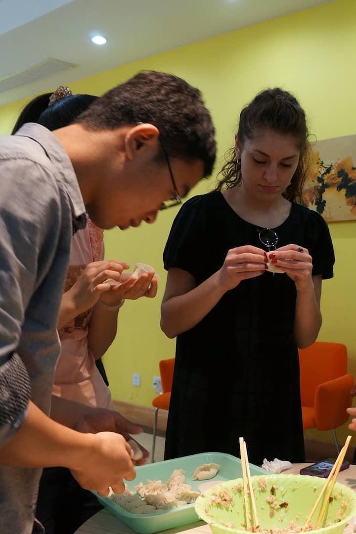 Making Chinese food