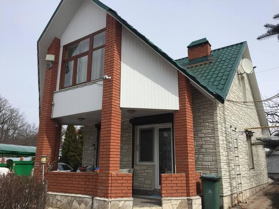 Фасад дома