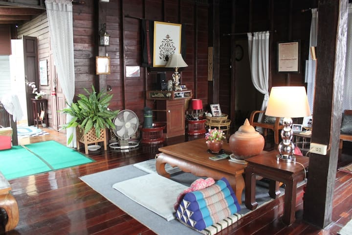 Lanna Wood Home (Fan-Room) - Chiang Mai - House