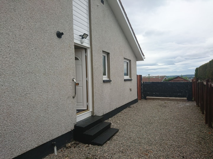 two bedroom bungalow with castle view