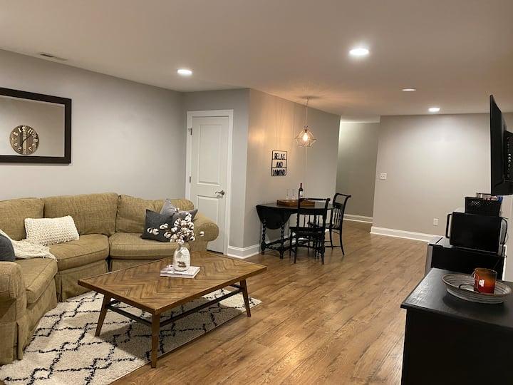 Spacious, Cozy Basement Apartment in Fletcher