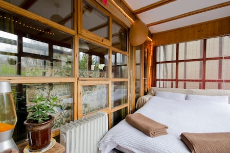 Wooden Conservatory @ EcoSelf-Build - Brighton