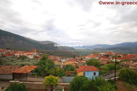 2 lovely rooms for 3 people with amazing views - Chrisso - Aamiaismajoitus