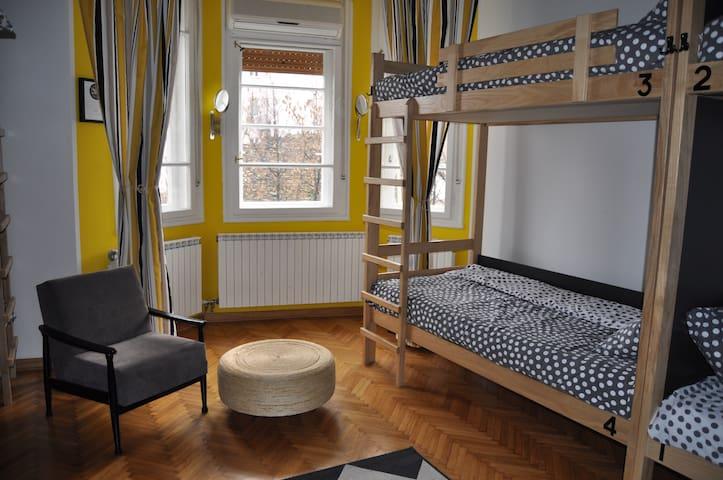 10 bed mix dorm-Moon