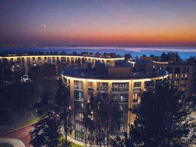 Апартаменты на берегу Финского залива