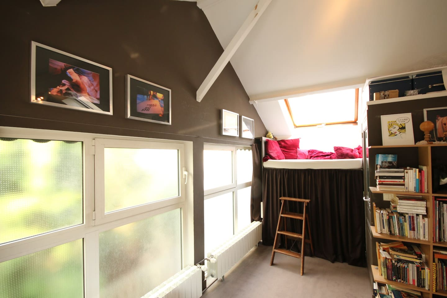Your private second floor room with possible additional bed