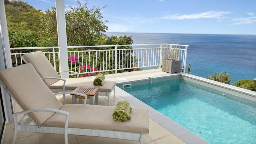 Villa Miki 2 bedrooms offers a serene atmosphere at highly reasonable rates - Gustavia