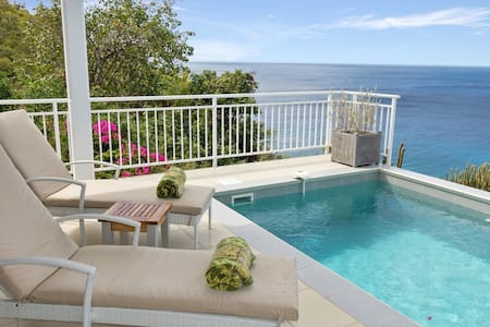 Villa Miki 2 bedrooms offers a serene atmosphere at highly reasonable rates - Gustavia - Vila