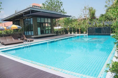 清迈 精品公寓 Nimman宁曼Maya商圈 带泳池健身房 温馨舒适 乳胶枕