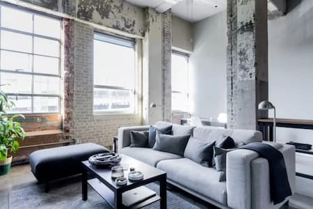 Downtown Luxury Loft in Historic Building - Dallas - Loft