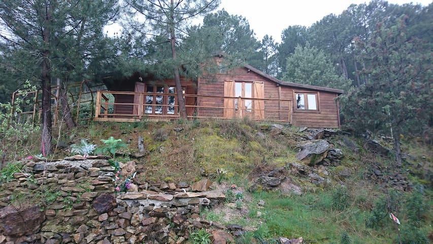 Maravillosa cabaña de madera - La Atalaya - Alojamento na natureza