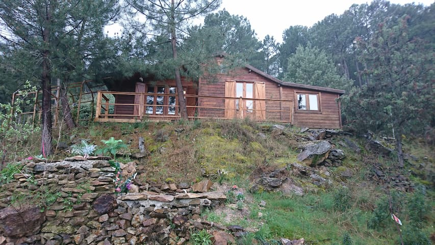 Maravillosa cabaña de madera - La Atalaya