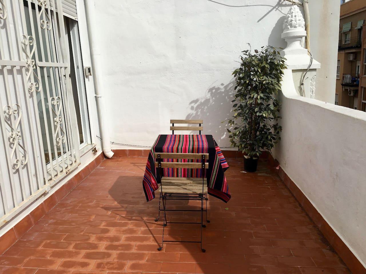 Terrace/Terraza