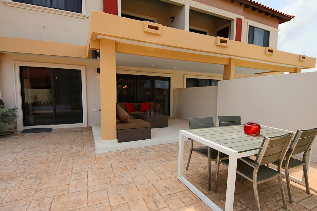 Your private veranda to enjoy to Aruban sunshine
