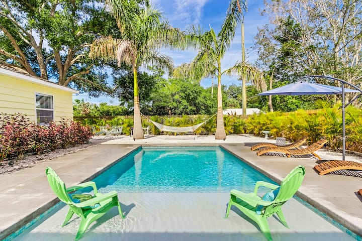 PRIVATE POOL OASIS BY SIESTA KEY!