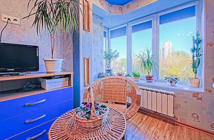 Уютная квартира в Сестрорецке - Sestroretsk - Apartemen