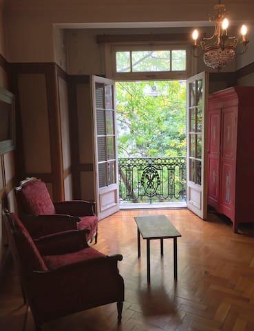 Cálida habitación en el corazón de Palermo