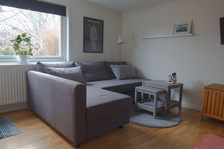 Secluded and cosy apartment.