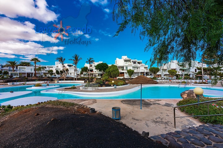 Apple 2 beds apartment n Los Molinos Costa Teguise