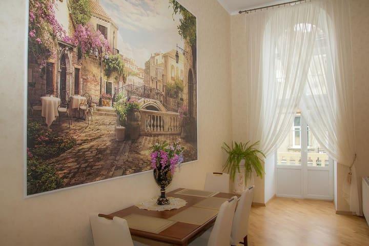 Centr of Lviv, Teatralna 23 - Leópolis - Apartamento