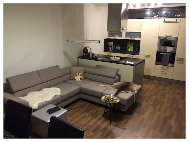 Luxury Apartment & Terrace, Parking - Olmütz - Wohnung