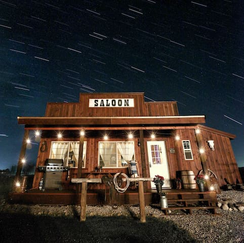 Western Saloon with Teton Views!