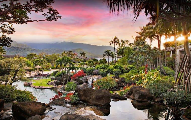 Hanalei Bay Resort 2 Bedroom 7 Nights