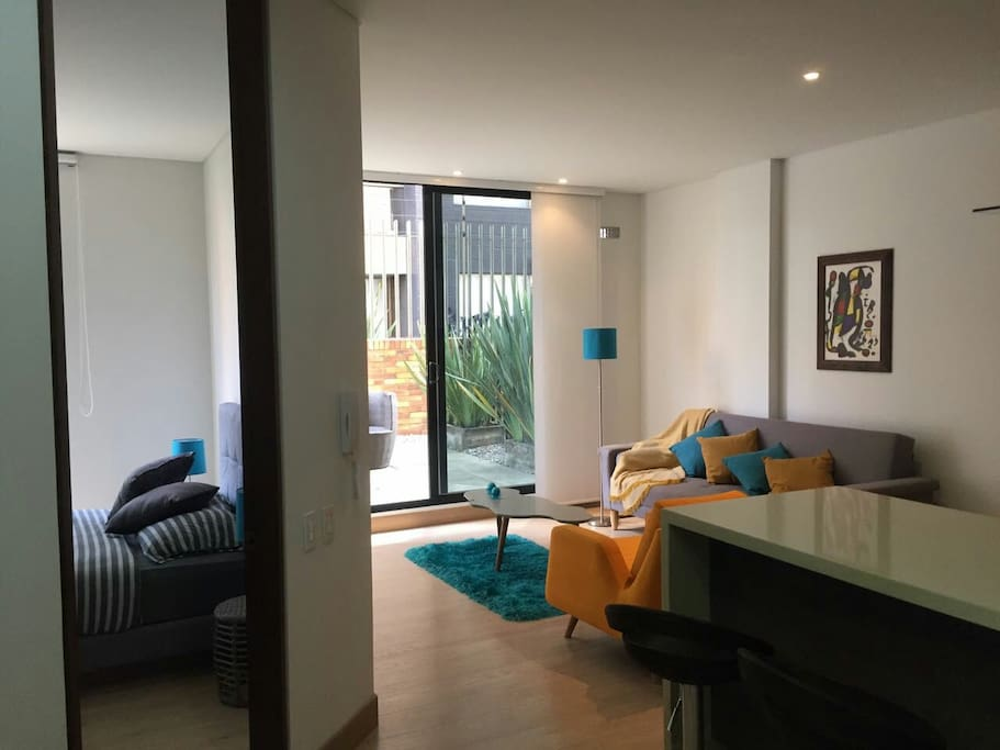 Chic 1 Bedroom Terrace Safe And Quiet Apartments For Rent In Bogot Bogot Colombia