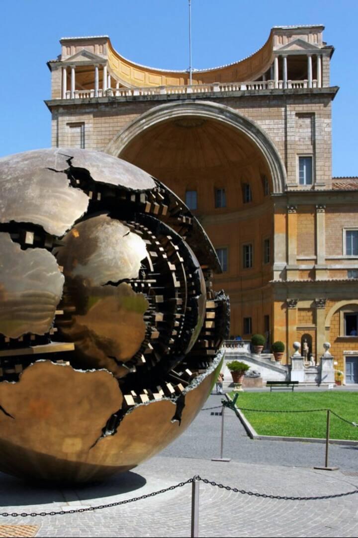 Vatican Museums- Cortile della Pigna
