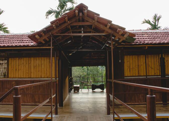 Stay Near Untouched Forests - Kadanur - Bungalow