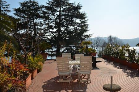 big terrace 2 front lake Salò - Salò