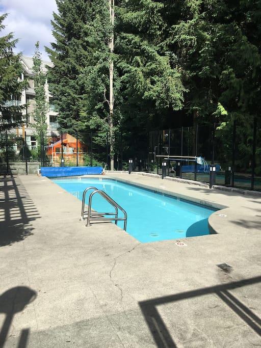 Pool....& hot tub