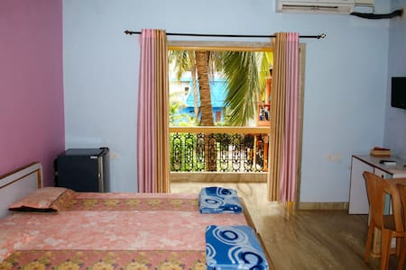 Simple and Comfortable Studio in Candolim - Vendégház