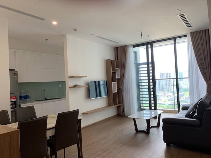 Hot 50usd serviced Apartmen Vinhome Phạm Hùng 2 BR