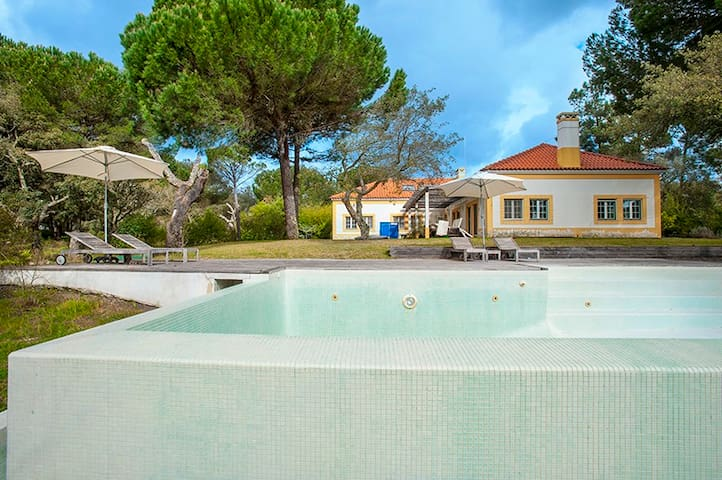 Pool at Comporta Villa Montalvo with 6 bedrooms - Alcácer do Sal - Huis