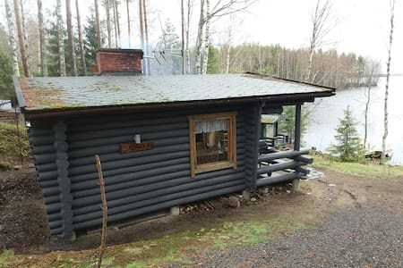 Summer cottage and sauna by Lake Suur-Onkamo