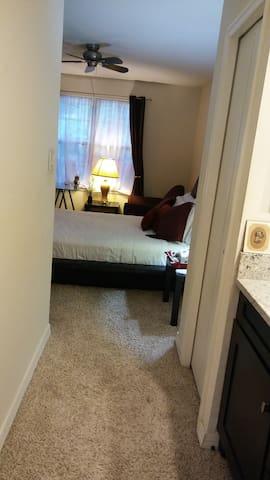 Beautiful, Comfortable, Clean Master Bedroom