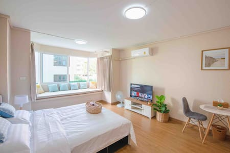 Nimman cozy room宁曼路中心一室公寓可步行至maya可住三人님만해민중심위치원룸콘도