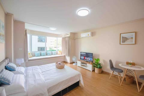 Nimman cozy room松igi路中心一室公寓可㕸行㕸virtual可住㕸人Nimman Hae Minh Central Location Room Condo