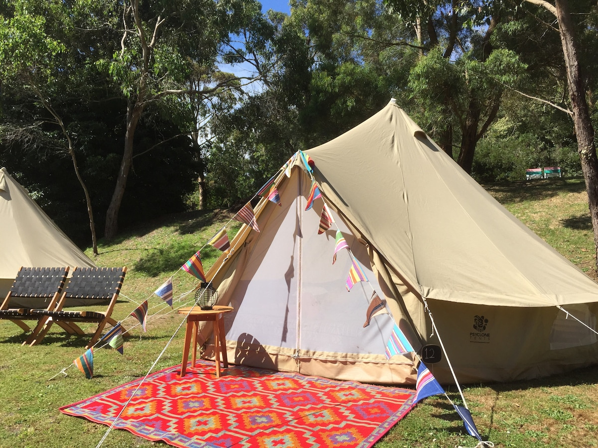 View Photos & Fancy Tent -Glamping Getaway - Tents for Rent in Red Hill South ...