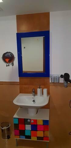 Baño 1. Privado de habitación